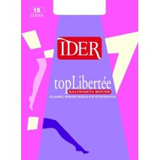 HOLD-UP STOCKINGS MOUSSE IDER TOP LIBERTE 15D